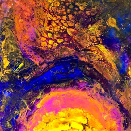 Phoenix Rising 12 X 12 Clayboard jpeg